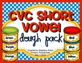 CVC Short Vowel Dough Pack {Common Core Aligned}