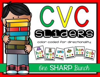 CVC Sliders {Phoneme Segmentation}