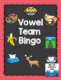 Vowel Teams Bingo