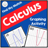 Calculus Find My Match Graphing Activity