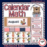 Calendar Icons - Navy and Coral Edition