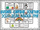 Calendar Journal Bundle (2015-2016 School Year)