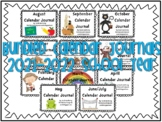 Calendar Journal Bundle (2016-2017 School Year)