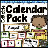 Calendar Materials {DOTS}