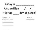 Calendar Math for the Upper Grades Bulletin Board Templates