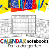 Interactive Calendar Notebooks for All Year 2015-2016