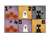 Calendar Patterns to Teach Math (October/Halloween)