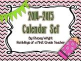 Calendar Set 2014-2015