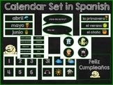 Calendar Set in Spanish
