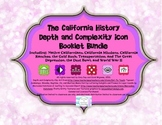 California History Depth and Complexity Icon Booklet Bundle