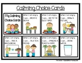 Calming Choice Cards {Behavior Management Strategy}