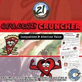 Calorie Cruncher -- Diet & Fitness Solving Inequalities Project