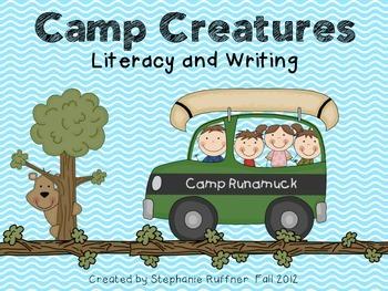 Camp Creatures Writing Activities