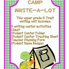 Camp Write-a-Lot 6 Trait Centers