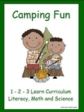 Camping Fun Literacy, Math and Science