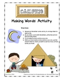 Camping Making Words