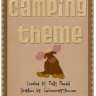 Camping Theme Materials