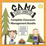 Behavior Management Bundle - Fun Camping Themed Character
