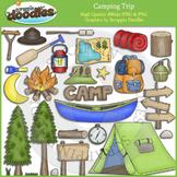 Camping Trip Clip Art