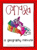 Canada - A Geography Mini-Unit