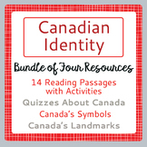 Canada! Canadian Identity Bundle of 4 Products