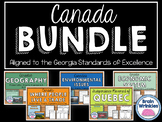 Canada Unit BUNDLE - Geography, History, Environmental Iss