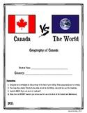 Canada vs. The World (+ Rubric)