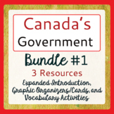 Canada's Government - Bundle #1 of 3 Items