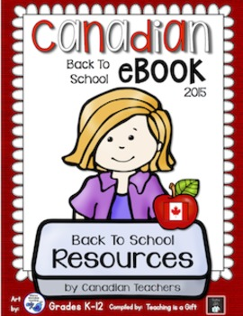 Canadian Back To School eBook 2015