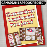 Canadian Lapbook Project - Canada's Provinces and Territories