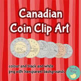 Canadian Money Coin Clip Art