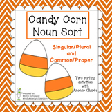 Candy Corn Nouns (Sorting Activities)