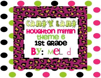 Candy Land Houghton Mifflin Theme 6-Grade 1