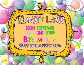 Candy Land Scott Foresman (Reading Street) Unit 4-Grade 2