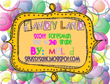 Candy Land Scott Foresman (Reading Street) Unit 4-Grade 2
