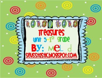 Candy Land Treasures-Unit 5-Grade 1