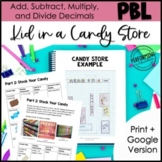 Project Based Learning: Kid in a Candy Store - Sweet Inqui