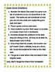 Capitalization Editing Rules Camping Scoot Game or Task Cards