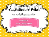 Capitalization Rules Power Point
