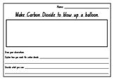 Carbon Dioxide Balloon Experiment