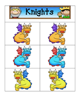 Card Matching- Knights