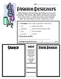Career Lesson: Fashion Designers