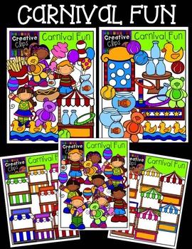 Carnival Fun {Creative Clips Digital Clipart}