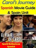 Carol's Journey (El Viaje de Carol) Spanish Movie Packet