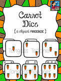Carrot Dice Clipart Freebie