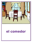 Casa (House in Spanish) mini-posters