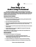 Case Study of an Active Professional