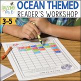 Ocean Themed Reader's Workshop Materials: Posters, Printab
