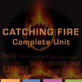 Catching Fire Complete Unit: Quizzes, Activities, Test, Wr