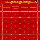 Catching Fire Jeopardy Game